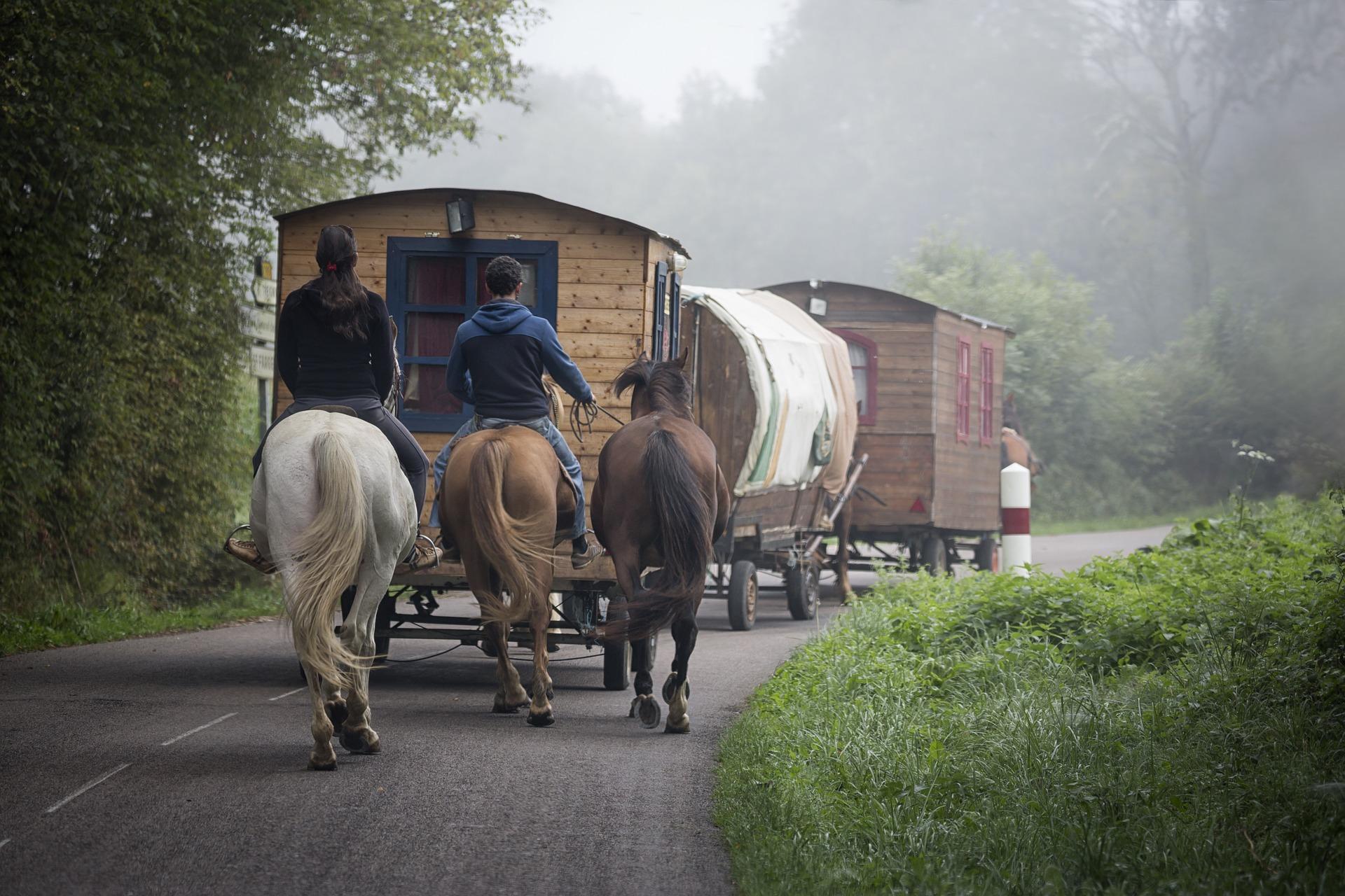 gitans caravane